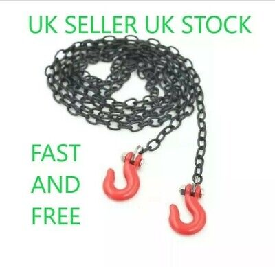 £3.68 • Buy 😀1/10 Rc Crawler Accessory Tow Chain Trailer Hook Axial Scx10 D90 Land Rover😀