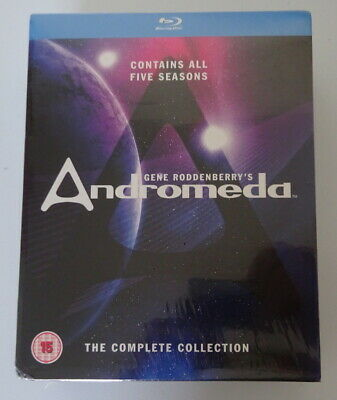 Andromeda Seasons 1 To 5 Complete Collection - Blu-Ray  • 74.99£