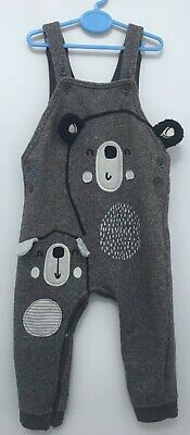 George Size 12-18 Months Teddy Bear Dungarees. Excellent Condition • 0.99£