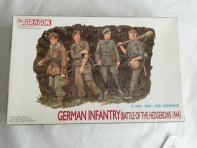 German Infantry (Battle Of The Hedgerows 1944) Scale 1:35 '39-'45 Series. Dragon • 16£
