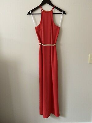 AU28 • Buy Forever New Red Maxi Dress - Size 6