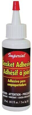 Imperial KK0149 Gasket Cement Fireplace Furnace WoodStove Glass Door Glue 2 Oz • 2.47£