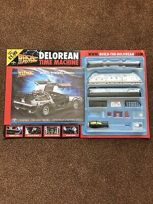 1:8 Scale Eaglemoss Back To The Future Build Your Own Delorean Issue 1  2016 • 3.85£