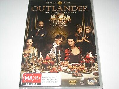 AU22.99 • Buy OUTLANDER Season 2 DVD R4 NEW/SEALED