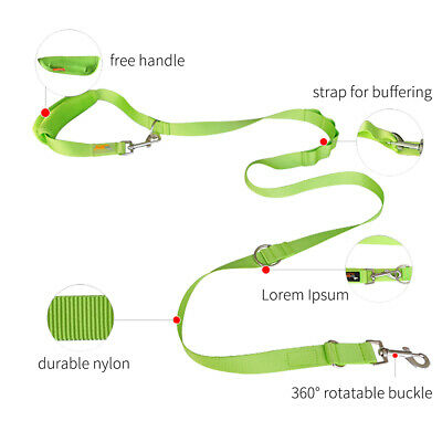 AU25.99 • Buy 2M Dual Dog Leash 2 Way Lead Two Dogs Adjustable Pet Play Puppy Outdoor Walking