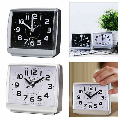 AU14.79 • Buy Easy To Read Alarm Clock Bedside Travel Quality Work Womens Mens Kids Clocks NEW