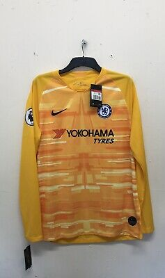 NIKE Chelsea FC Home Goalkeeper Jersey Mens Size L {R102} • 31.50£