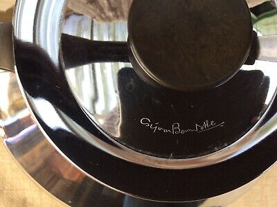 Stainless Steel Kettle By Sigvard Bernadotte Signed 1.5 Litre Stove Top • 15£