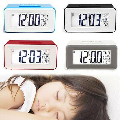 AU17.49 • Buy Portable Digital Snooze Electronic Alarm Clock LED Backlight Light Control Gifts
