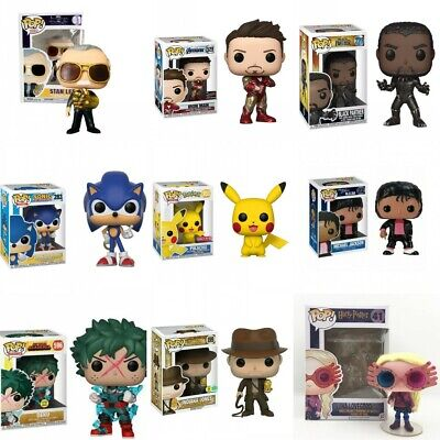 Funko POP Marvel Avengers Chase Action Figure Collection Toy Halloween Xmas Gift • 12.98£