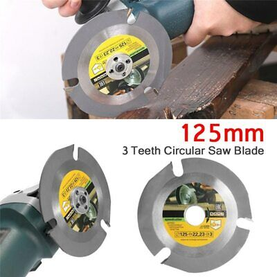 £6.66 • Buy Saw Blade Disc For Angle Grinder 125mm 3T Wood Circular Cutting Disc Rotary Tool