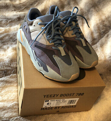 $ CDN474.54 • Buy 100% Authentic Adidas Yeezy Boost 700 Carbon Blue Mens Size 6.5 (women's 8US)