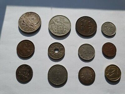Job Lot Of Old Foreign Coins Dated Between 1916 And 1990 • 0.50£