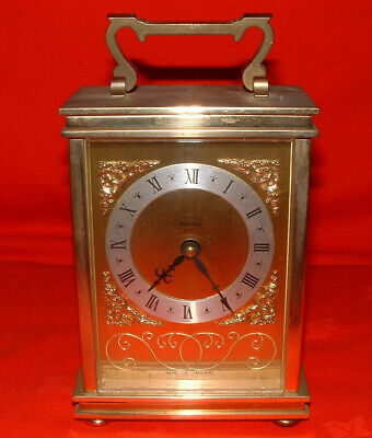 Solid Brass Carriage Clock Designed By Metamec Of London **FREE P&P** Mantel  • 79.99£