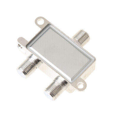 AU9.61 • Buy 2 Way Coax Cable Splitter 5~2400 MHz Cable TV Antenna