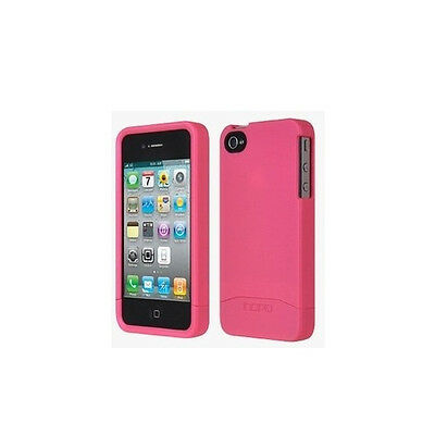 £5.06 • Buy Pink Incipio Apple IPhone 4 4S EDGE Hard Shell Slider Carrying Case Cover