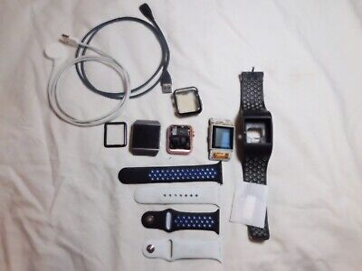 $ CDN89.30 • Buy Apple Watch/Fitbit Ionic/ Fitbit Surge And Accessories Lot. (some Are Broken)