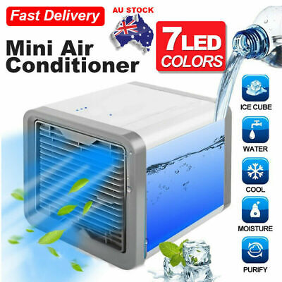 AU19.69 • Buy NEW Portable Mini Air Conditioner Cool Cooling Cooler Fan For Bedroom