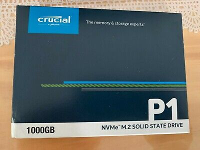 AU135 • Buy Crucial P1 1TB, Internal (CT1000P1SSD8) Solid State Drive