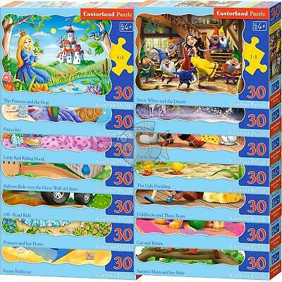 Castorland For Kids Jigsaw Puzzle From 40 To 260 Pieces Landscape City Animals • 7.49£