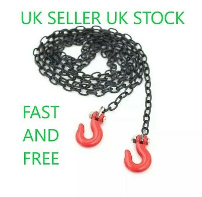 £3.69 • Buy 😀1/10 Rc Crawler Accessory Tow Chain Trailer Hook Axial Scx10 D90 Land Rover😀