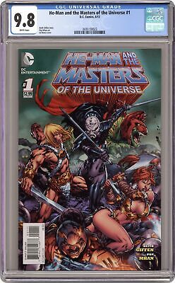 $52 • Buy He-Man And The Masters Of The Universe 1A Benes Variant CGC 9.8 2013 3695150023