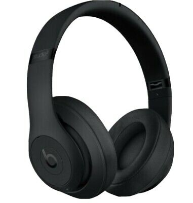Beats By Dr. Dre MQ562LL/A Studio3 Wireless Headphones - Matte Black • 133.99£