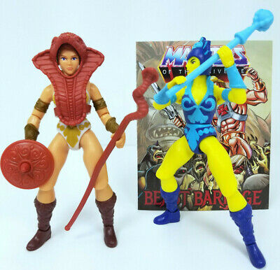 $40 • Buy Masters Of The Universe Origins Teela And Evil Lyn Figures Complete Weapons