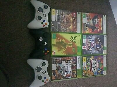 AU50 • Buy Xbox 360 Bundle (controllers And Games)