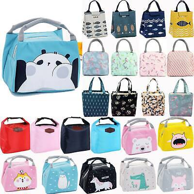 AU13.10 • Buy AU Lunch Bag Women Men Thermal Insulated Lunch Box Tote Portable Picnic Coolbag