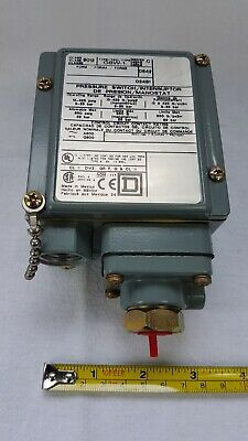 AU200 • Buy Square D 9012-GBW-1 Pressure Switch - Series C - Unused But Unboxed And Scuffed