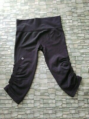 $ CDN8.30 • Buy Lululemon Black  Comfortable Shorts Size 6 , Good Condition  Durable Yoga Brand