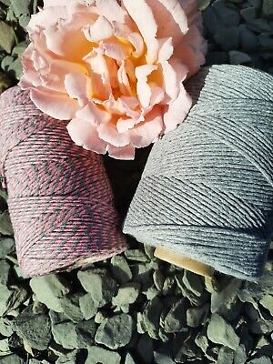 £2.50 • Buy Pink And Greys Selection Of Bakers Twine. 5, 10 Or 20 Metre Lengths