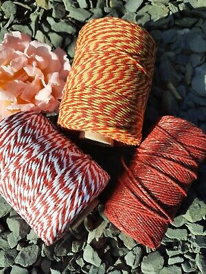 £1.70 • Buy Sunset Selection Of Bakers Twine. 5, 10 Or 20 Metre Lengths.