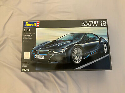 Revell BMW I8 (Scale 1:24) Model Kit NEW (box Seal Opened) • 5.90£