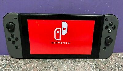 AU177.50 • Buy Nintendo Switch Grey Console Working