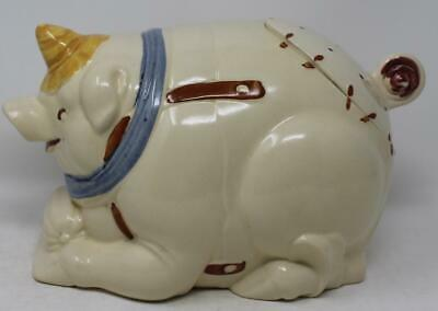 $ CDN133.39 • Buy Puritan Pottery Pig Cookie Jar With Oiler