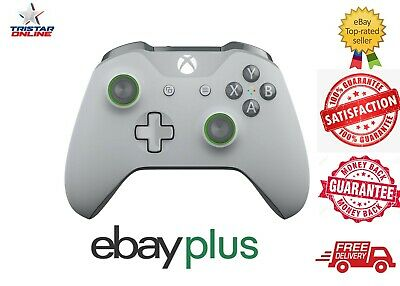 AU89 • Buy Microsoft Xbox One S Controller Wireless Grey Green Special Edition Bluetooth AU
