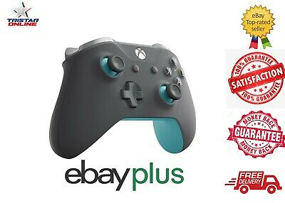 AU95 • Buy Microsoft Xbox One S Wireless Controller Grey Blue Special Edition Bluetooth AU