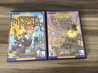 Escape From Monkey Island & The Curse Of Monkey Island Pc Games Bundle • 9.99£
