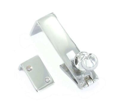 Polished Chrome Counterflap Catch • 8£