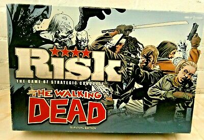 Risk The Walking Dead Survival Edition (2013) Zombie Board Game  • 9.99£