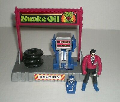 $42.95 • Buy Vintage M.A.S.K. Pit Stop Catapult INCOMPLETE Sly Rax 1987 Kenner