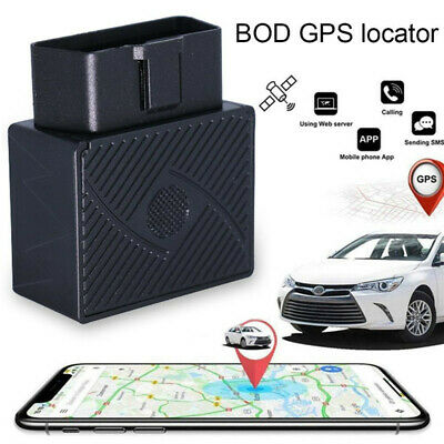 Mini OBD GPS Tracker Car Van Vehicle OBD Tracking Device Real Time Locator UK • 15.59£