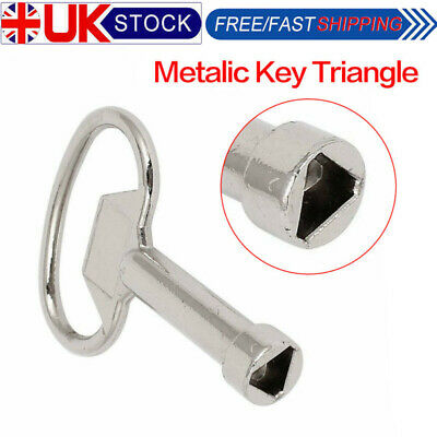 Meter Box Key Gas Electric Box Cupboard Cabinet Triangle Keys Metal DIY Tool • 4.99£