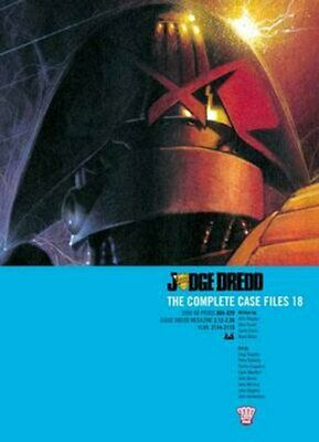 Judge Dredd: The Complete Case Files 18 By John Wagner 9781907992254 | Brand New • 14.91£