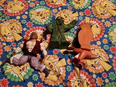 $5 • Buy Masters Of The Universe Prince Adam And Zoar + Swamp Monster D&D Tsr Lot Of 3