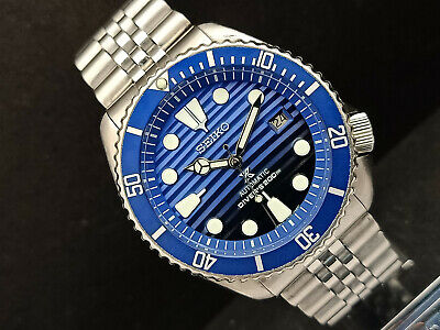 $ CDN117.99 • Buy Seiko Diver 7002-7000 Save The Ocean Mod Dial Automatic Mens Watch 532008