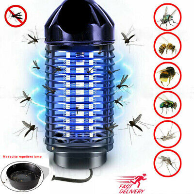 Uk Electric Uv Insect Killer Zapper Mosquito Bug Trap Grill Fly Catcher Led Lamp • 8.97£
