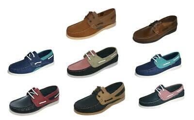 Ladies Seafarer Yachtsman Nubuck Leather Boat Deck Shoes  Sizes 4 - 8 • 34.99£